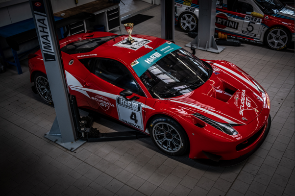 15 Jahre SCUDERIA GT: Ferrari 458 GT3