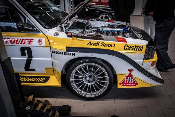 "15 Jahre SCUDERIA GT: AUDI Rallye Quattro ""Walter Röhrl / Christian Geistdörfer"""