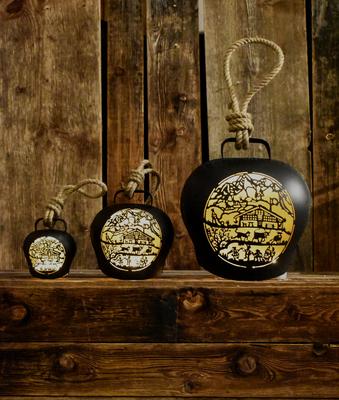Glocken Alphüsli schwarz