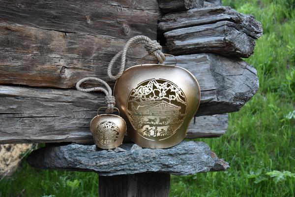 Kuhglocken Alphüsli gold
