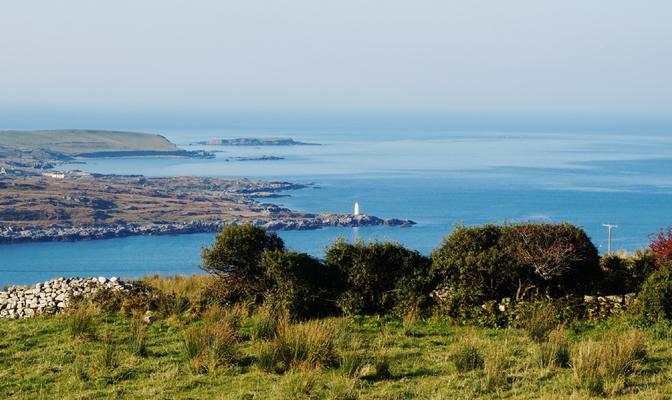 Hillside Lodge - Clifden, Connemara, Galway County, Ireland - Landscape