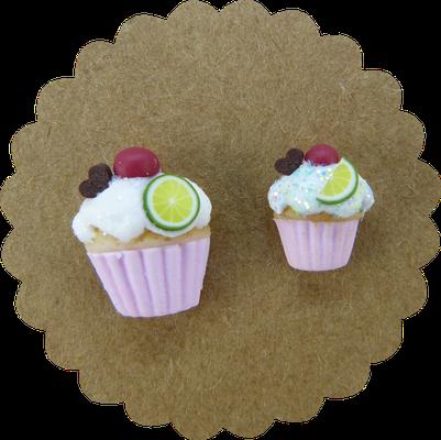 Die kleine Muffinstecker sind ideal für kleine Ohrläppchen. Im Produkttitel steht immer ob es sich um große oder kleine Muffinstecker handelt.