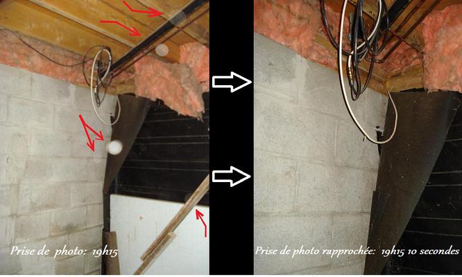 Ces deux photos ont été prises au sous-sol.