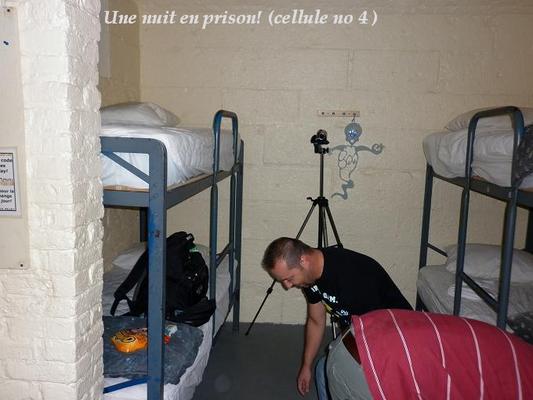 Les treize prochaines photos ont été prises dans l'arrière-cour du pénitencier.