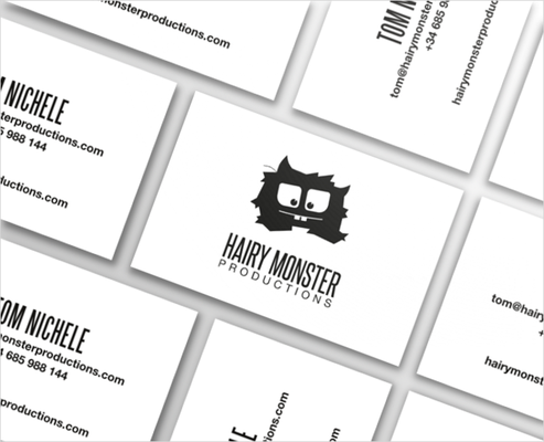 Diseño tarjeta de visitas HMP