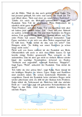 Kurtchen steht im Regen, Eine Tiergeschichte für Kinder mit einem Koala, Seite 2