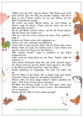 Ferien auf dem Bauernhof, Eine Sommergeschichte für Kinder, Seite 2