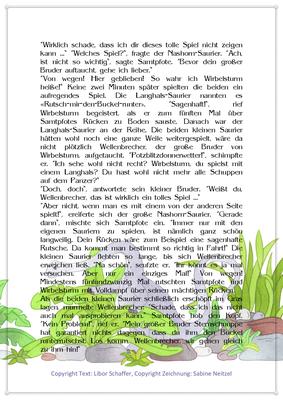 Samtpfote und Wirbelsturm, Eine Dinosauriergeschichte für Kinder, Seite 2