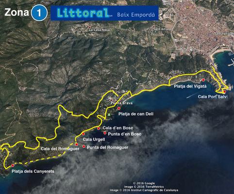 Camí De Ronda Sant Feliu De Guíxols S Agaró Platja D Aro Littoral Baix Empordà