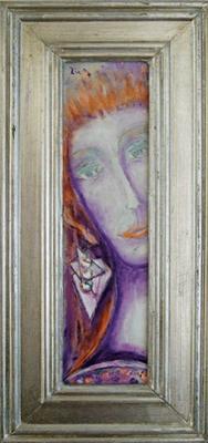 DIE SCHÖNE II - Acryl 2007 32x8