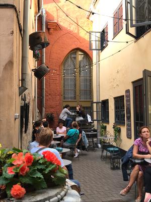 Das versteckteste Café in Riga