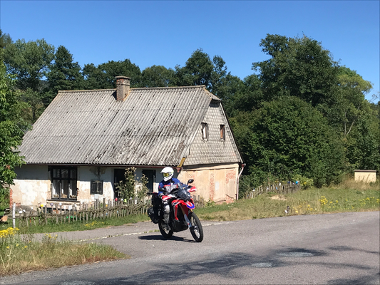 An der Schwarzwald-Hochstraße zwischen Rymarov und Sumperk