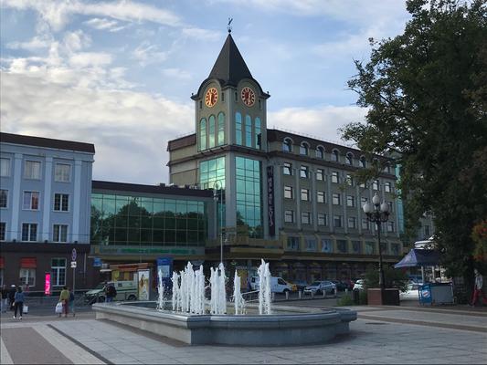Am Kaliningrader Siegesplatz