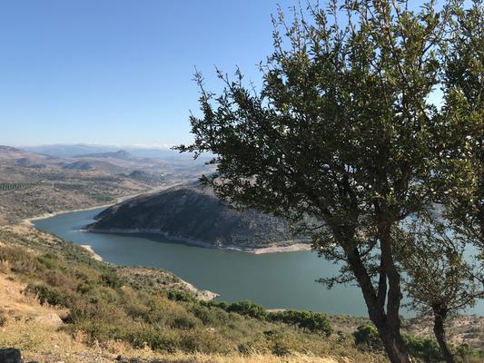 Bergama: Stausee unterhalb des Burgbergs