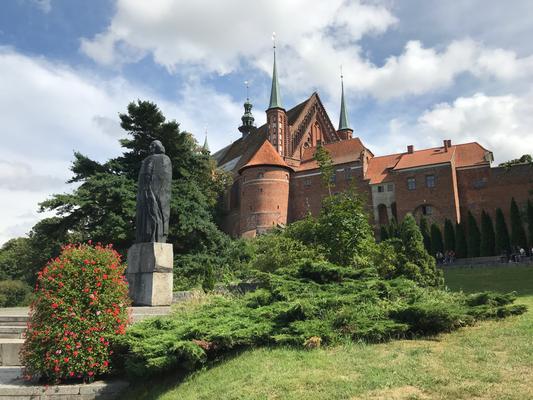 Frombork - Der Frauenburger Dom aus dem 14. Jahrhundert