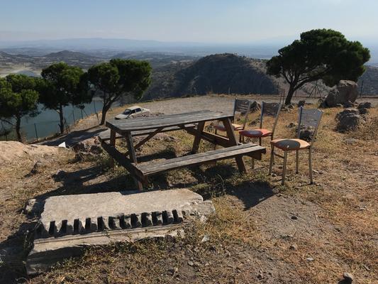 Blick vom Burgberg Pergamons