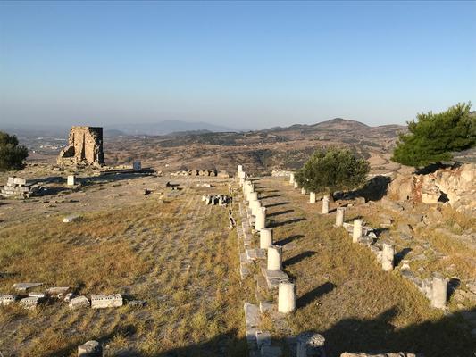 Pergamon: Areal des Athenatempels