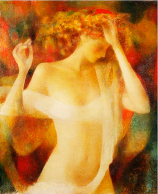 """Nude"". Artist Besic Arbolishvili"