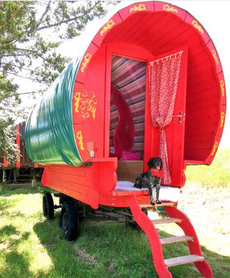 Gypsy roulotte - Jardin Boheme