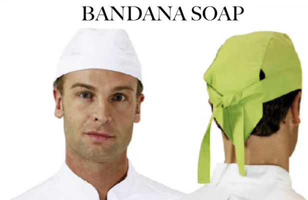 Ariell divise da lavoro Cappello bandana Soap colori a tua scelta