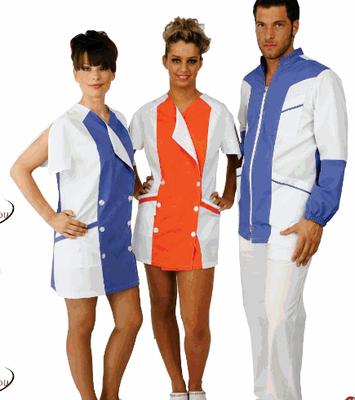 ALICE camice donna - GIULIO casacca uomo - manica lunga o corta a scelta - taglie xs / xxl - colori a scelta