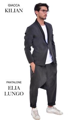 Ariell Divise da Lavoro Giacca Kilian e pantalone Elia lungo tessuto Antimacchia per Parrucchieri oppure tessuto Cady per Front Office