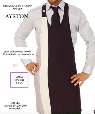 Ariell divise da lavoro grembiuli pettorine per Ristorazione Bar Catering personalizzati con il tuo logo senza minimi quantitativi