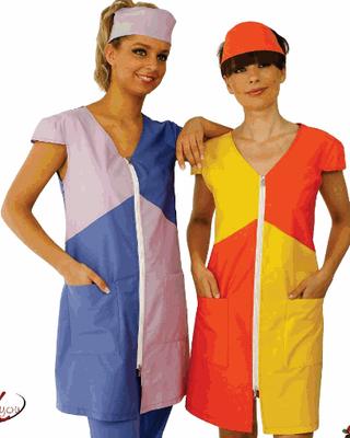 ROUGE abitino cerniera - manica ad aletta oppure corta o lunga a scelta - tg xs /xxl colori a scelta