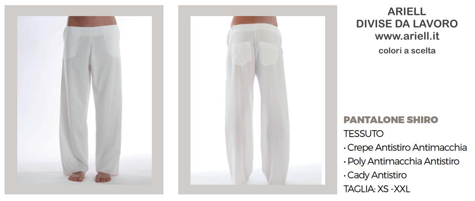 Ariell Divise da Lavoro pantalone Shiro Colori a tua scelta