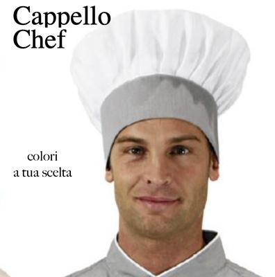 Ariell divise da lavoro Cappello Chef bicolore colori a tua scelta