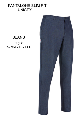 Ariell Divise da Lavoro pantalone slim Jeans Egochef