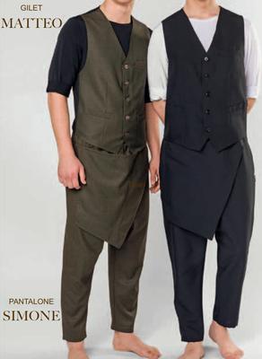 Ariell divise da lavoro Made in Italy PANTALONE SIMONE con tasca rimovibile colori a tua scelta