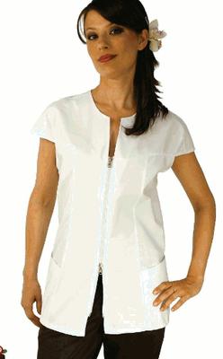 DIVA casacca manica corta - tg xs / xxl - colori a scelta anche su misura