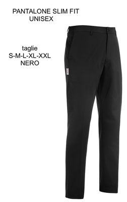 Ariell Divise da Lavoro pantalone slim nero Egochef