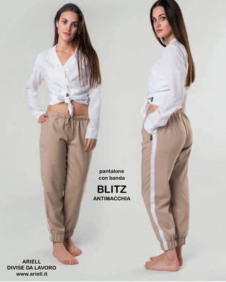 Ariell Divise da Lavoro pantalone Blitz con elastico in vita e elastico caviglia