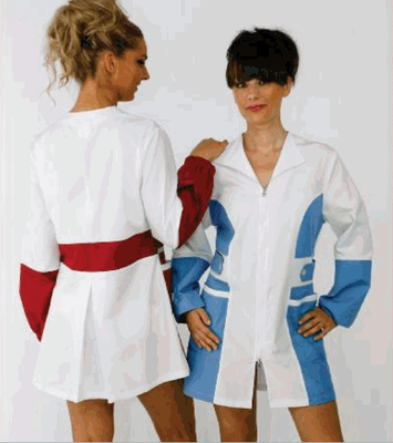 CAMILLA casacca donna - manica lunga con elastico oppure corta - taglie xs / xxl - colori a scelta
