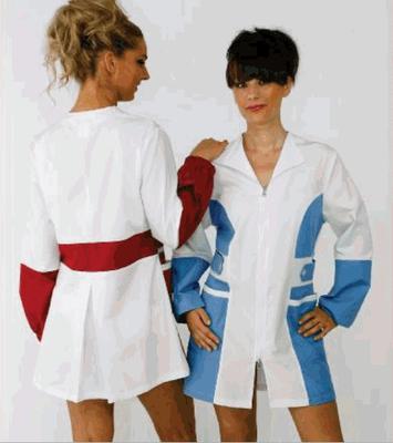 CAMILLA casacca donna - manica lunga con elastico oppure corta - taglie xs / xxl - colori a scelta anche su misura