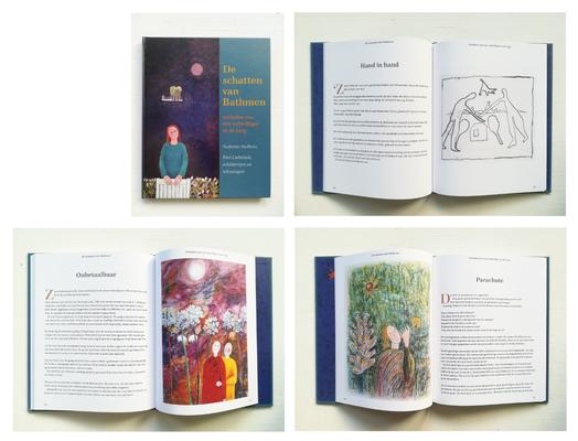Boek De Schatten Van Bathmen, een verhalenbundel geschreven door een vrijwilliger werkzaam in een woongroep.