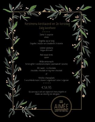 Huisstijl Café Aimeé, Den Haag