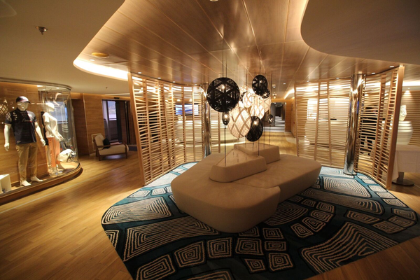 Lobby auf Deck 3