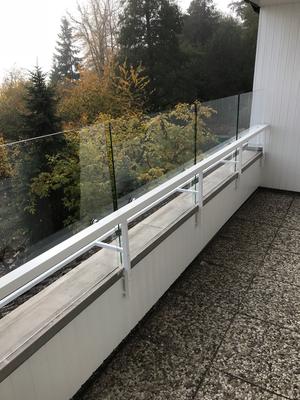 Häufig Französicher Balkon (Absturzsicherung ) - Glaserei Fialkowski BN46