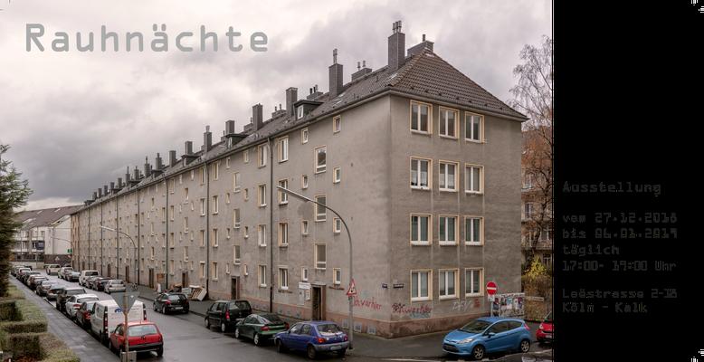 "Partizipatives Kunstprojekt ""Rauhnächte"" Loestr,2 - 18 Köln Kalk"