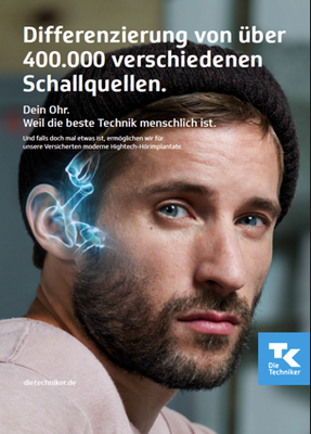 Kunde: Techniker Krankenkasse /Agentur: Jung von Matt Saga /Fotograf: Timo Schreiber