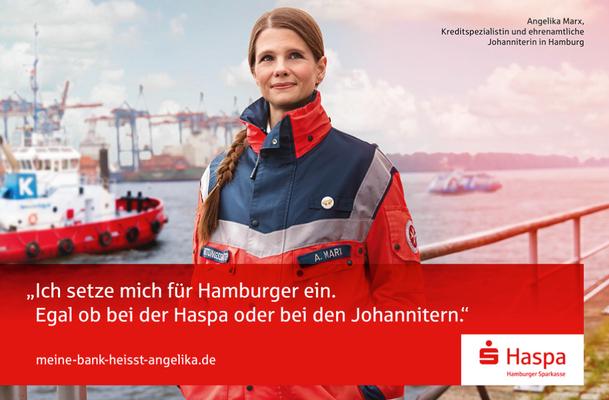Kunde: Hamburger Sparkasse / Agentur: Jung von Matt 365/ Fotograf: Ralph Hargarten