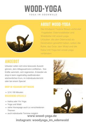 Angebot Yoga im Odenwald