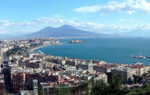 Landscape of Naples