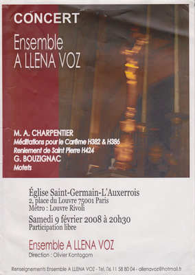 Direction: Olivier Kontogom