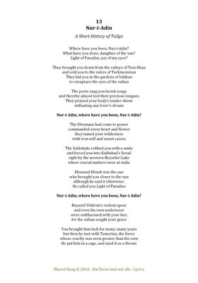 Nur-i-Adin  1 by Marcel Haag - Lyrics