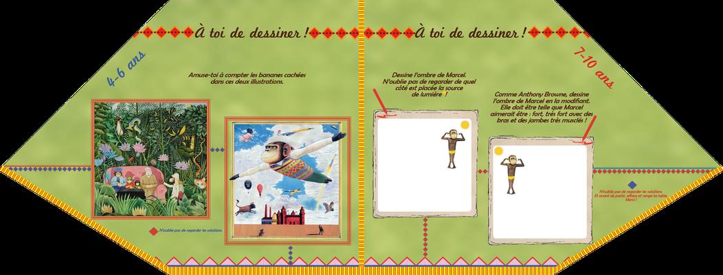 """visuel du module pédagogique """"Marcel"""", partie basse ou plateau avec manipulation"""