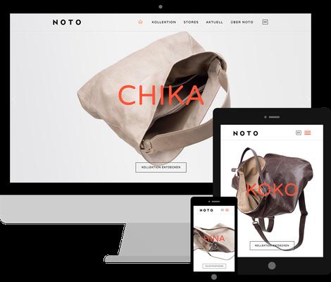 Jimdo Webdesign Edition Noto